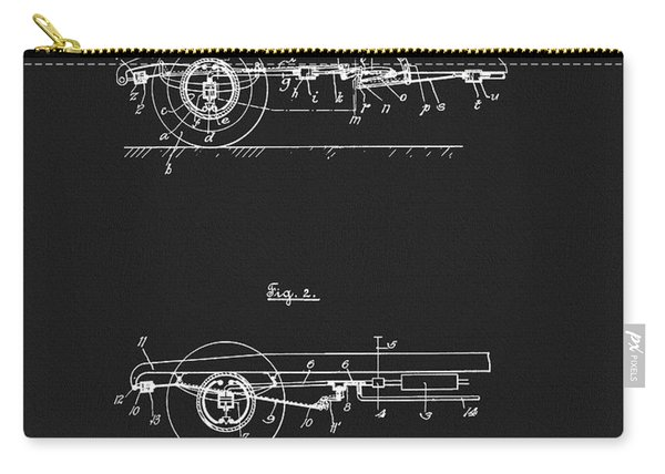 Porsche Brake Method Patent Carry-all Pouch
