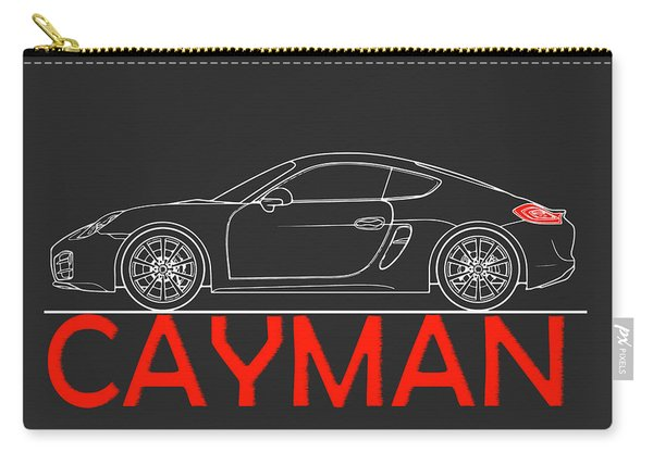 Porsche Cayman Phone Case Carry-all Pouch