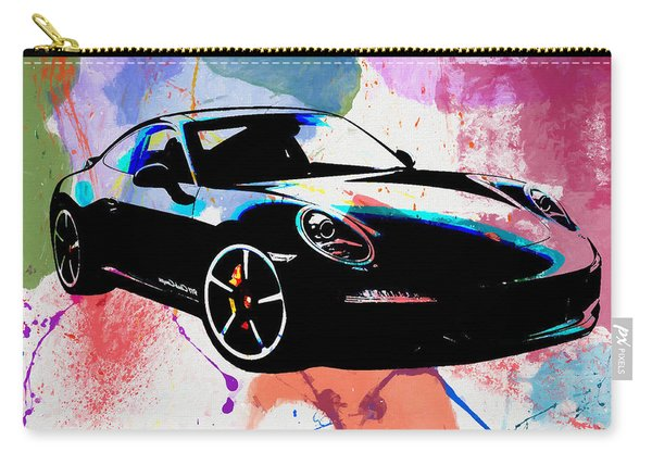 Porsche Color Poster Carry-all Pouch
