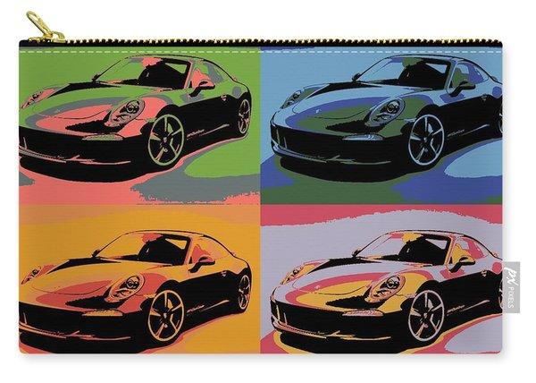 Porsche Pop Art Carry-all Pouch
