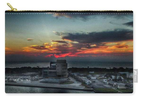 Port Everglades Sunrise Carry-all Pouch