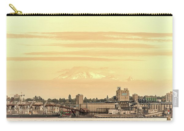 Port Of Vancouver Carry-all Pouch
