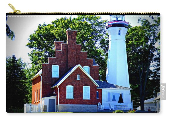 Port Sanilac Lighthouse Carry-all Pouch