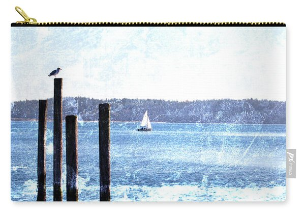 Port Townsend Pilings Carry-all Pouch