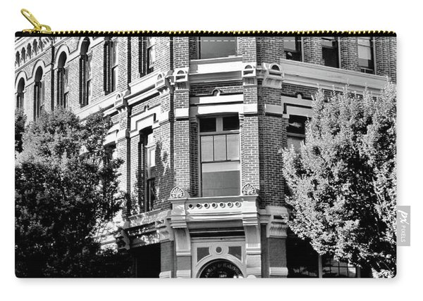 Port Townsend Washington State Architecture Bw Carry-all Pouch