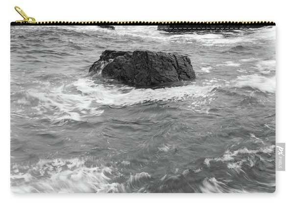 Portland Head Light Under Heavy Skies  -88356 Carry-all Pouch