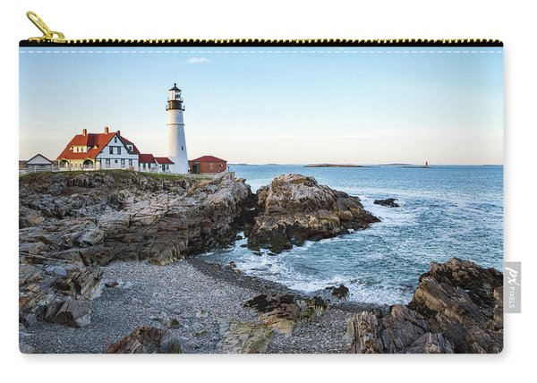 Portland Headlight And Ram Island Light Carry-all Pouch