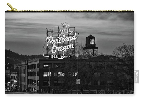 Portland Signs Carry-all Pouch