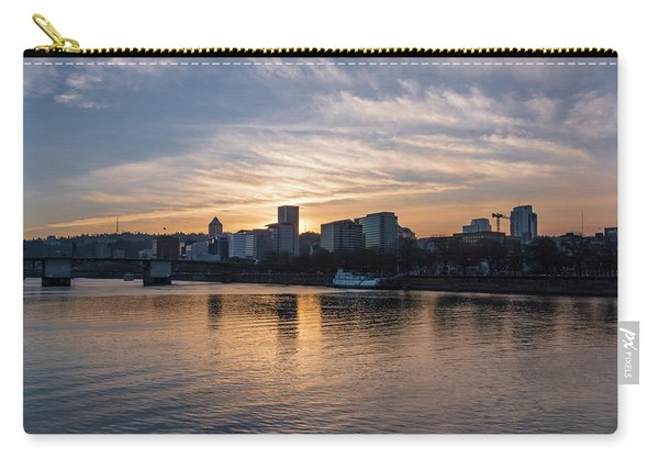 Portland Sunset Carry-all Pouch