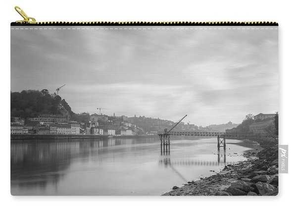 Porto Landscape With A Sky Carry-all Pouch