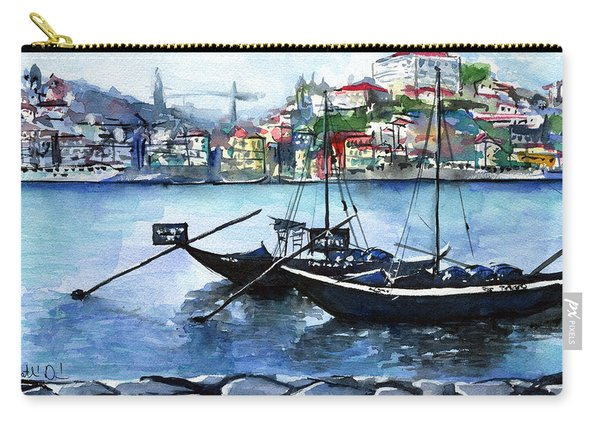 Porto Rabelo Boats Carry-all Pouch