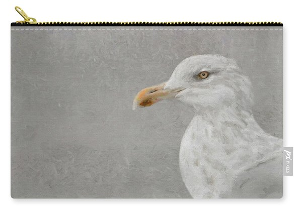 Portrait Of A Gull Carry-all Pouch