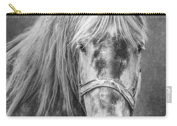 Portrait Of A Horse Carry-all Pouch