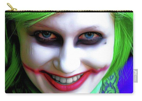 Portrait Of A Joker Carry-all Pouch