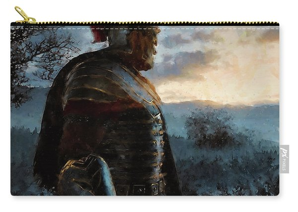 Portrait Of A Roman Legionary - 34 Carry-all Pouch