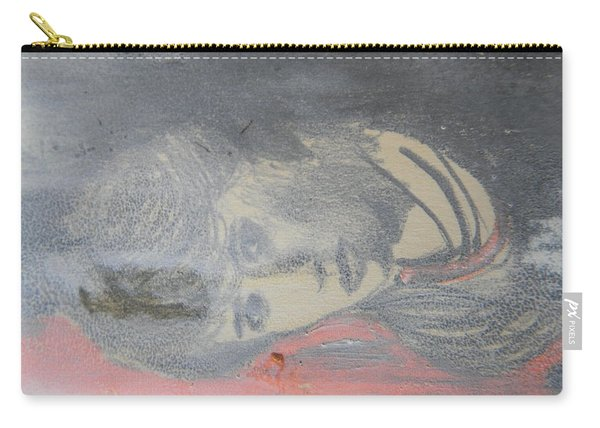 Portrait Of A Theatre Actress Carry-all Pouch