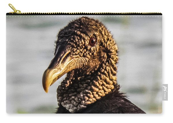 Portrait Of A Vulture Carry-all Pouch