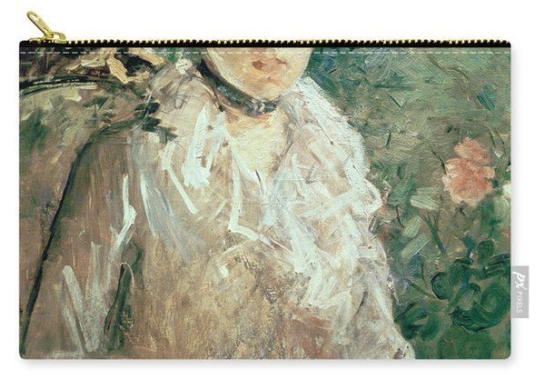 Portrait Of A Young Lady Carry-all Pouch