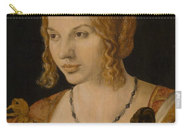 Portrait Of A Young Venetian Woman Carry-all Pouch