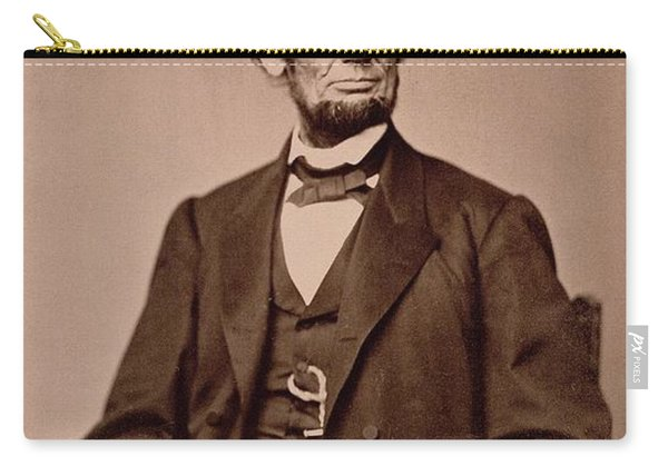 Portrait Of Abraham Lincoln Carry-all Pouch