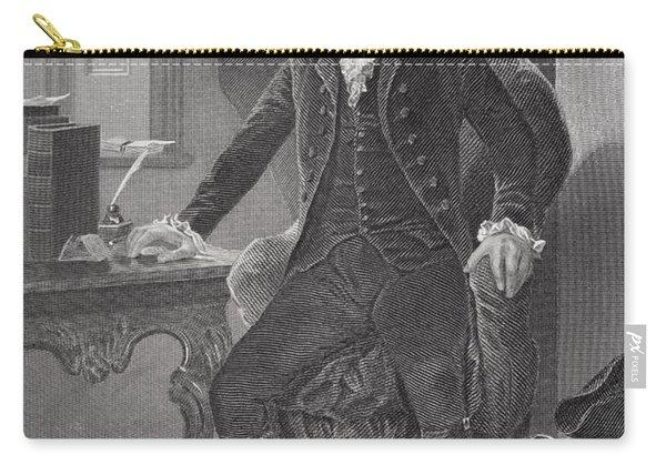 Portrait Of Alexander Hamilton Carry-all Pouch