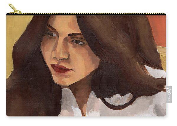 Portrait Of Amelia Carry-all Pouch