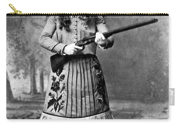 Portrait Of Annie Oakley Carry-all Pouch