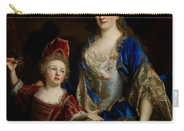 Portrait Of Catherine Coustard Carry-all Pouch