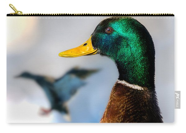 Portrait Of Duck 2 Carry-all Pouch