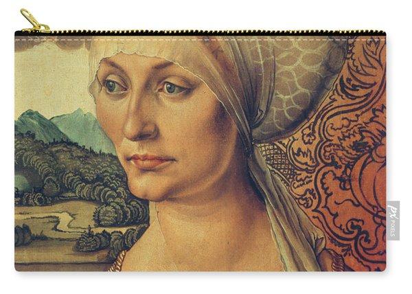 Portrait Of Elisabeth Tucher Carry-all Pouch