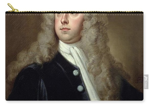 Portrait Of Francis 2nd Earl Of Godolphin 1678-1766 Sir Godfrey Kneller Carry-all Pouch
