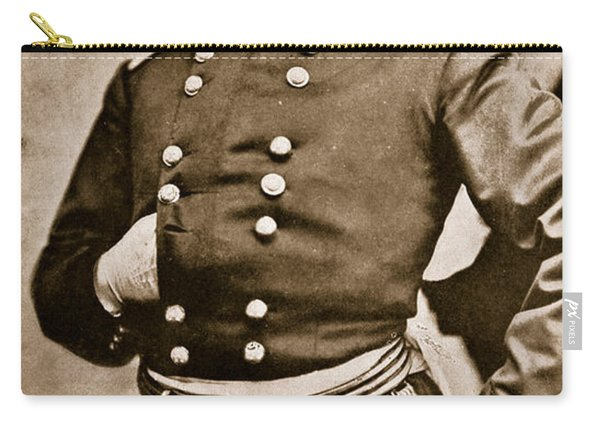 Portrait Of General George B Mcclellan Carry-all Pouch