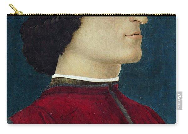 Portrait Of Giuliano De' Medici Carry-all Pouch