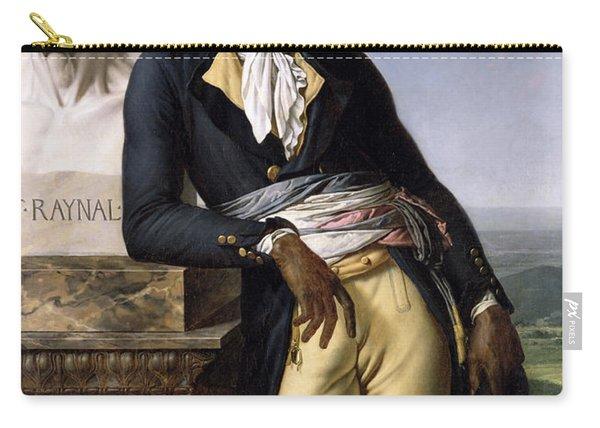 Portrait Of Jean-baptiste Belley Carry-all Pouch
