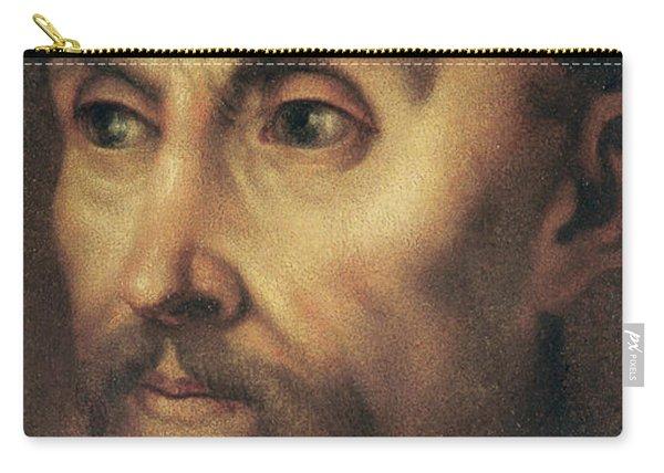 Portrait Of John Calvin Carry-all Pouch