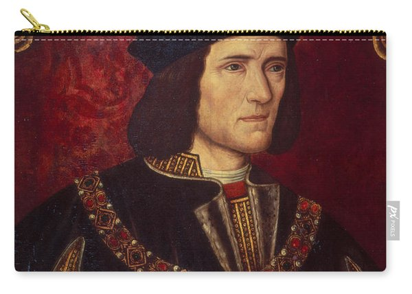 Portrait Of King Richard IIi Carry-all Pouch