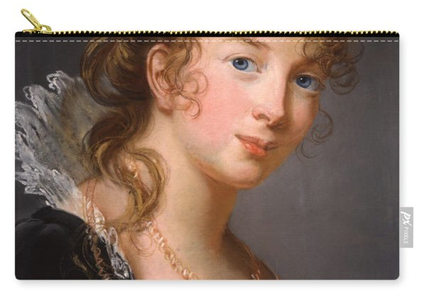 Portrait Of Louisa Princess Radziwill  Carry-all Pouch