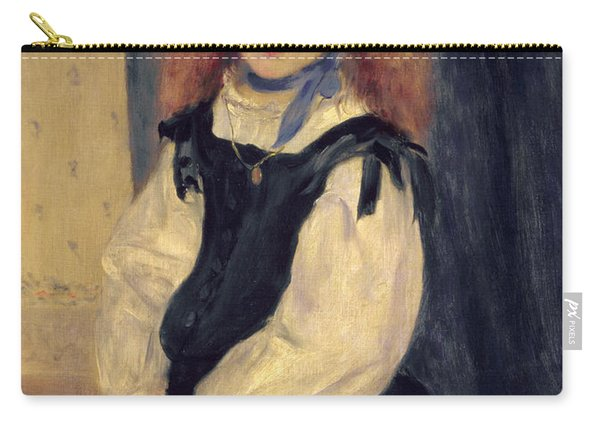 Portrait Of Mademoiselle Legrand Carry-all Pouch