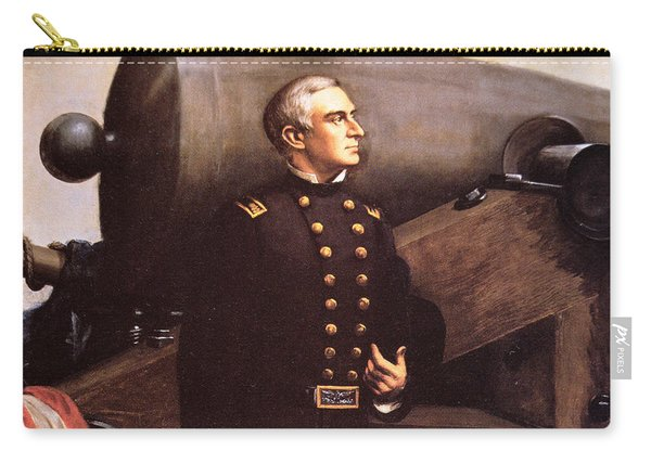 Portrait Of Major Robert Anderson Carry-all Pouch