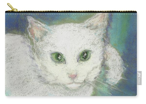 Portrait Of Misty Carry-all Pouch