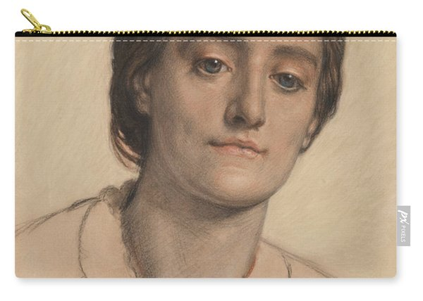 Portrait Of Mrs Edith Holman Hunt Carry-all Pouch