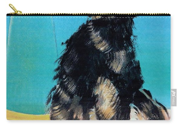 Portrait Of Muffin Carry-all Pouch