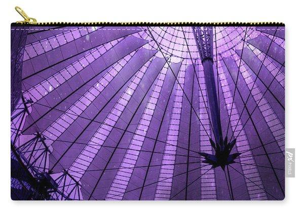 Portrait Of Purple Cosmic Berlin Carry-all Pouch