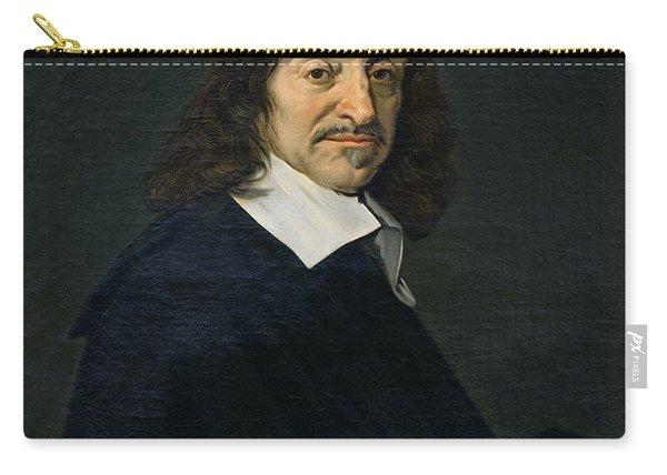 Portrait Of Rene Descartes Carry-all Pouch