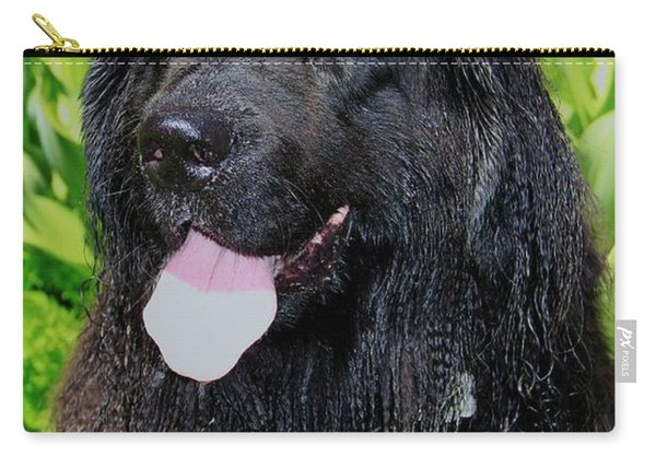 Carry-all Pouch featuring the photograph Portrait Of Sierra by Sean Sarsfield