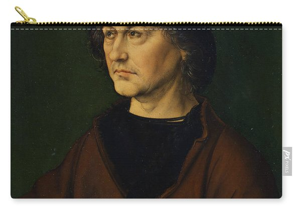Portrait Of The Artist's Father  Carry-all Pouch