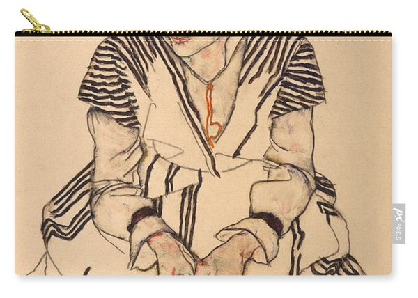 Portrait Of The Artist's Sister-in-law, Adele Carry-all Pouch