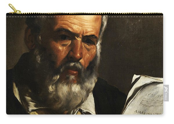 Portrait Of The Philosopher Anaximander Carry-all Pouch