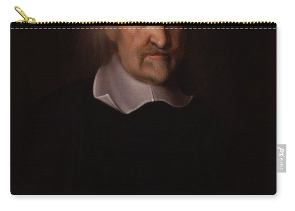 Portrait Of Thomas Hobbes Carry-all Pouch