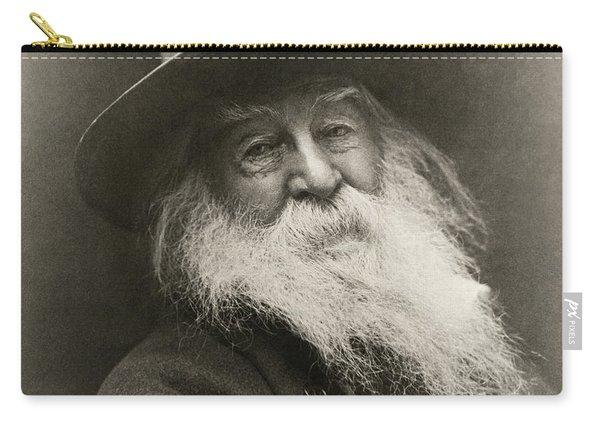 Portrait Of Walt Whitman Carry-all Pouch